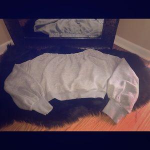Crop Sweatshirt!